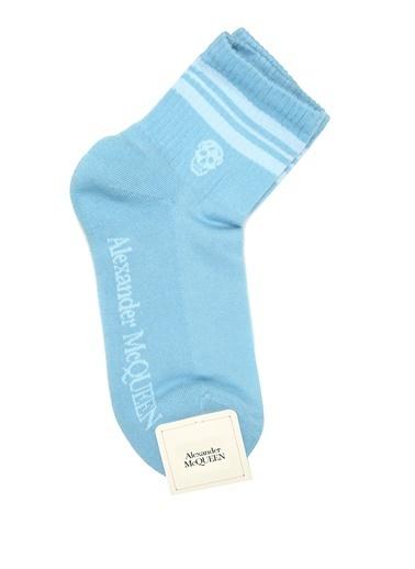 Alexander McQueen Çorap Mavi